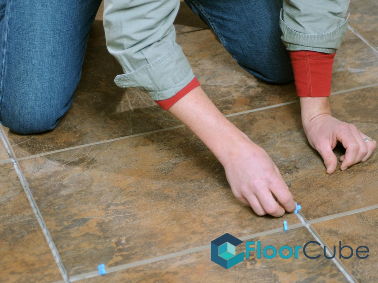 Laying Out Tiles Floorcube Vinyl Flooring Tiling Singapore