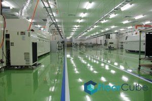 Epoxy Antistatic Flooring floorcube vinyl flooring tiling singapore